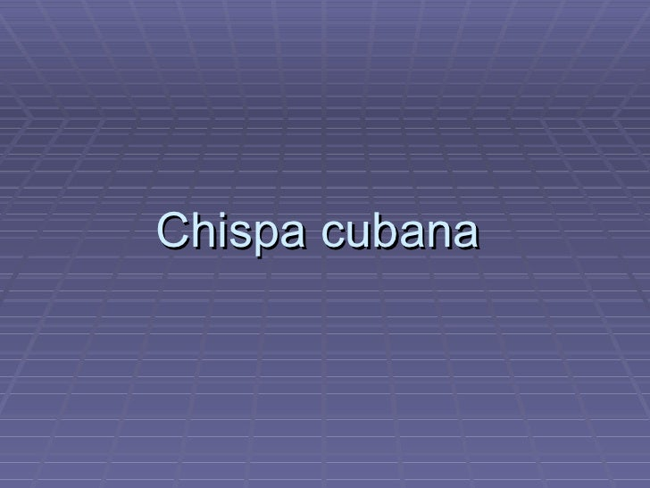 Chispa cubana