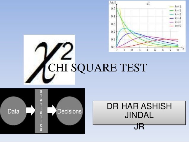 Chi square test final
