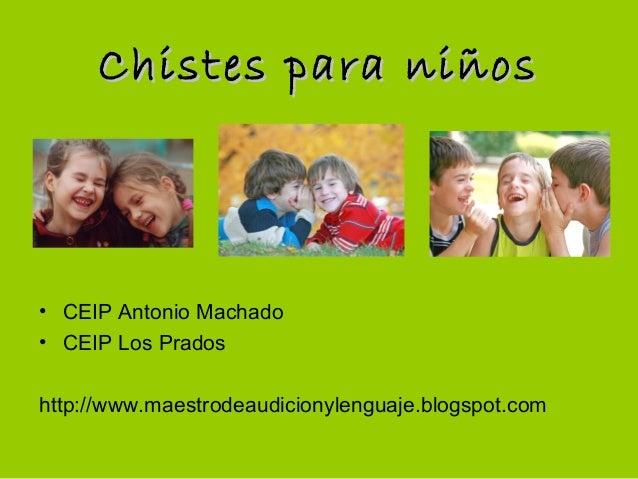 Chistes en Espanol Para Ninos Chistes Para ni os