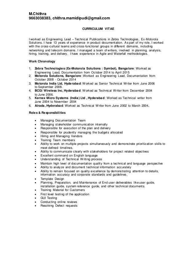 Technical writer Personal experiences essay – Technical Writer Job Description