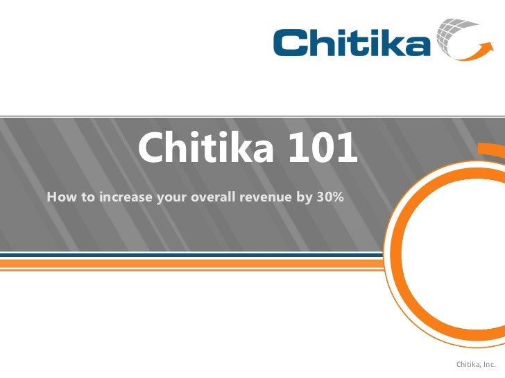 Chitika Overview