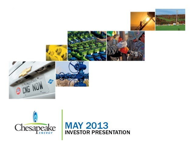May 2013 Investor PresentationMAY 2013INVESTOR PRESENTATION