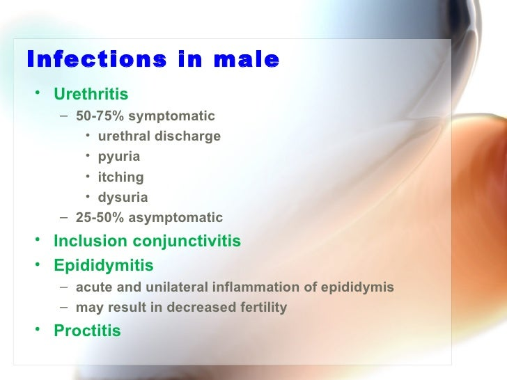 chlamydia bacterial infection male, Human body