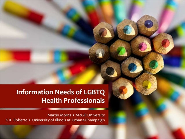 Information-seeking Behaviour of LGBTQ health professionals