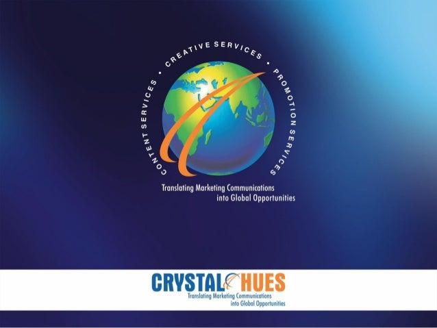 Introduction • Crystal Hues was established in 1989, incorporated as a Public Limited Company in 1995 under Indian Compani...