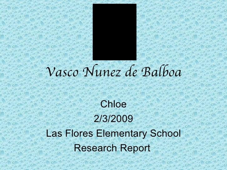 Chloe Explorer Report