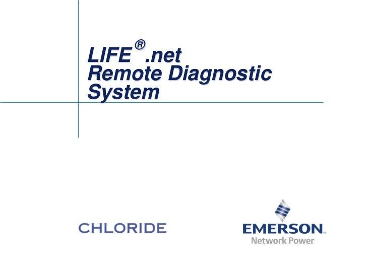 ®LIFE .netRemote DiagnosticSystem