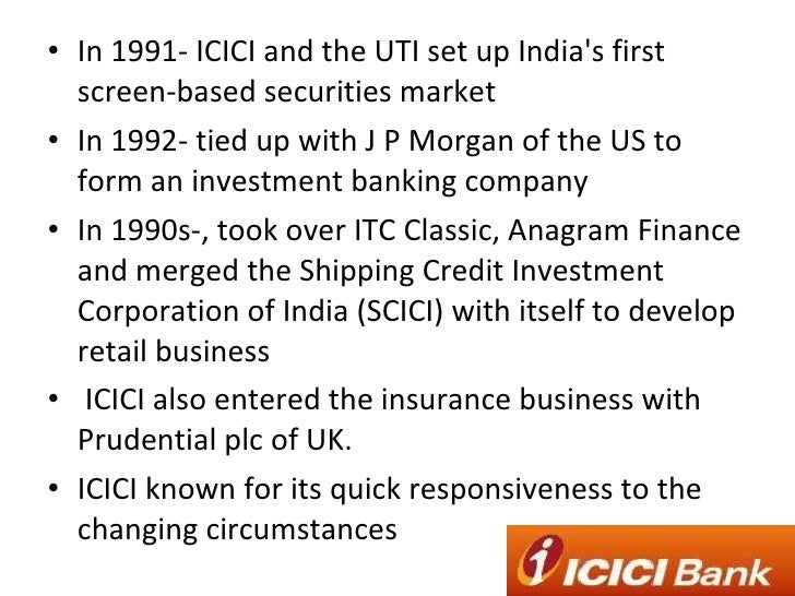 case study change management icici This is a live case study on change managementactually conceptualized and  implemented from concept to end result those who wish more.