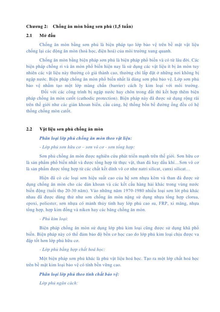 Chương 2 chống ăn mòn bằng sơn phủ (new)