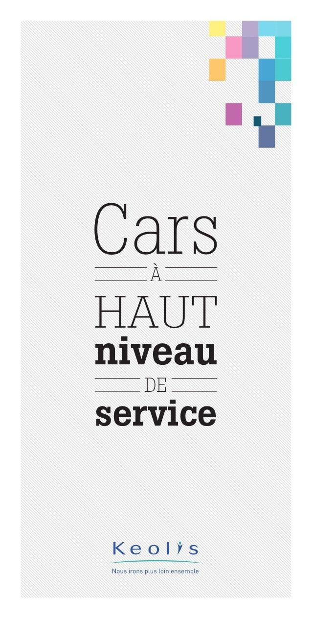 CarsÀ DE HAUT niveau service