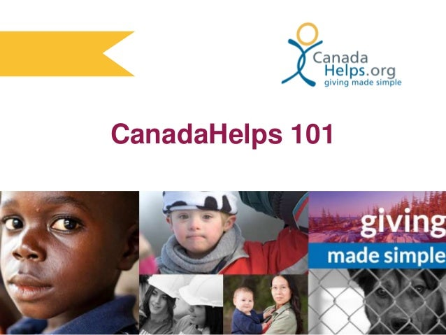 CanadaHelps 101 (March 2014)