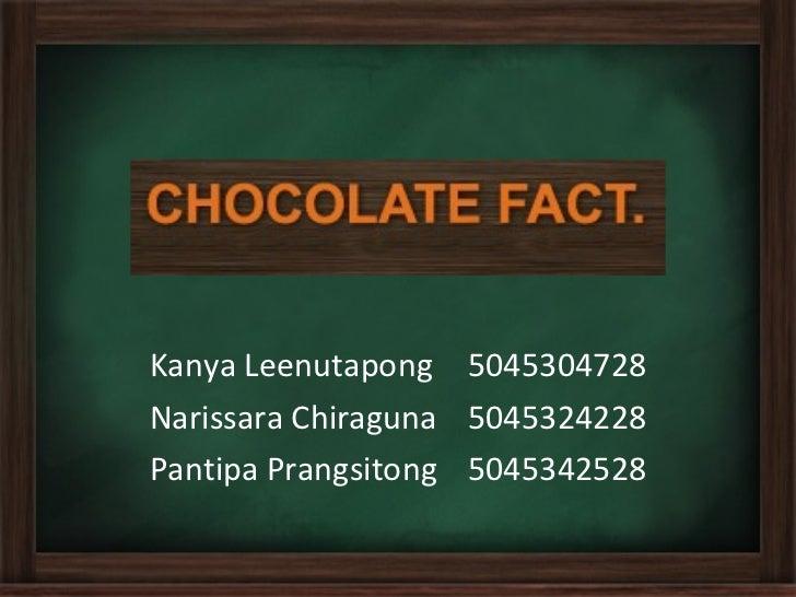 Choc.Fact Presentation