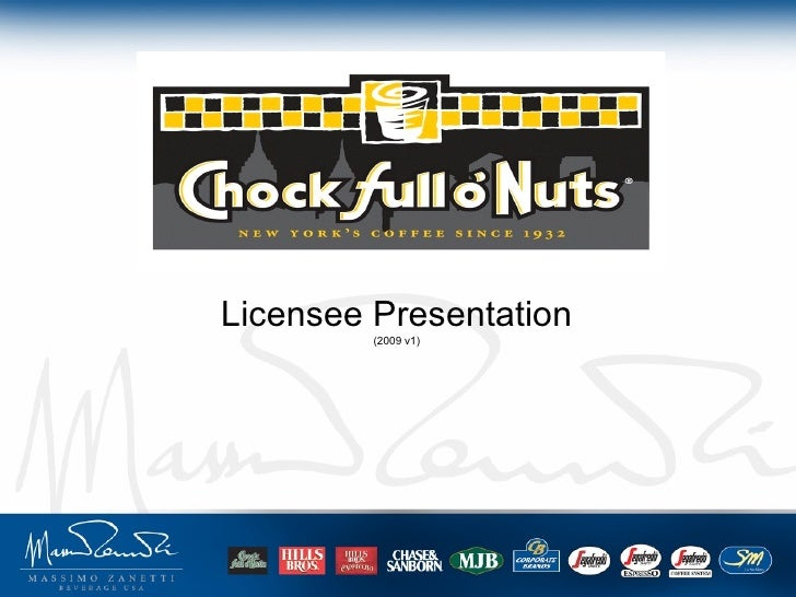 Chock standard licensee-presentation-2009v1