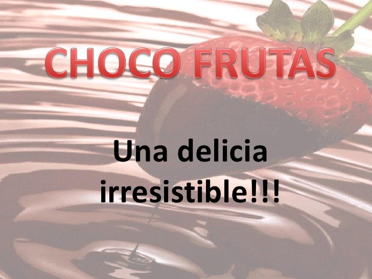 Una deliciairresistible!!!