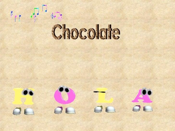 Chocolate CancióN
