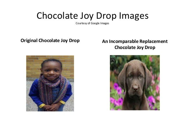 Chocolate Joy Drop Images Courtesy of Google Images Original Chocolate Joy Drop An Incomparable Replacement Chocolate Joy ...