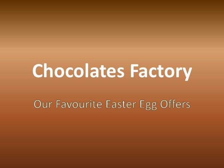 Chocolates Factory