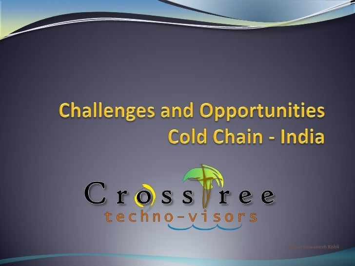 Cold-chain Market prospects in India