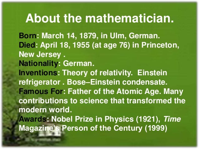 the significant contributions of albert einstein in the field of science Albert einstein (1879–1955) is einstein's philosophy of science is individual identities of the systems that physics describes was an important part of.