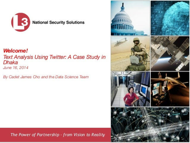 Text Analysis Using Twitter: A Case Study in Dhaka