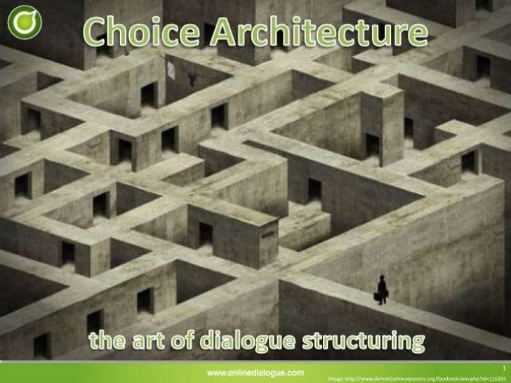 Choice architecture   bart schutz - ondido9