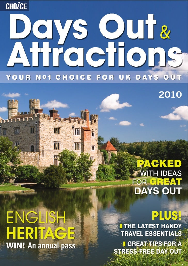 Choice Days Out & Attractions Sample 2010