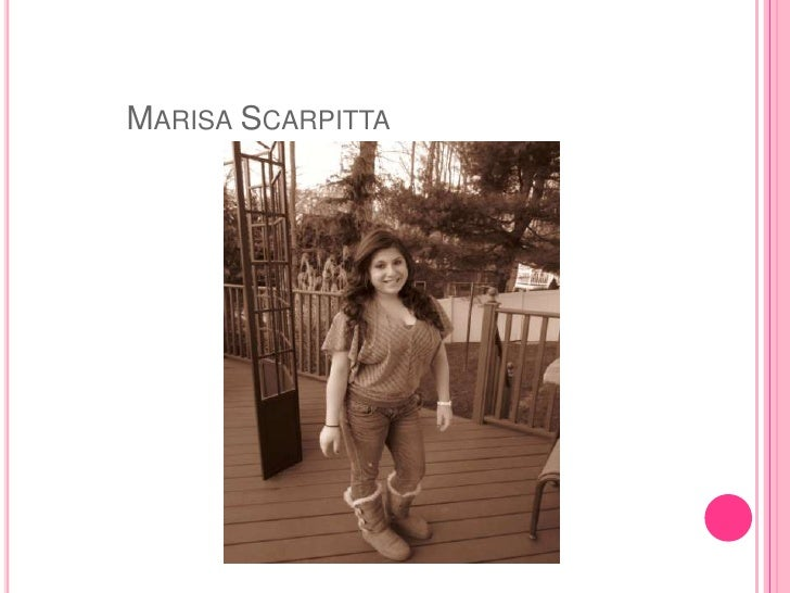 MARISA SCARPITTA