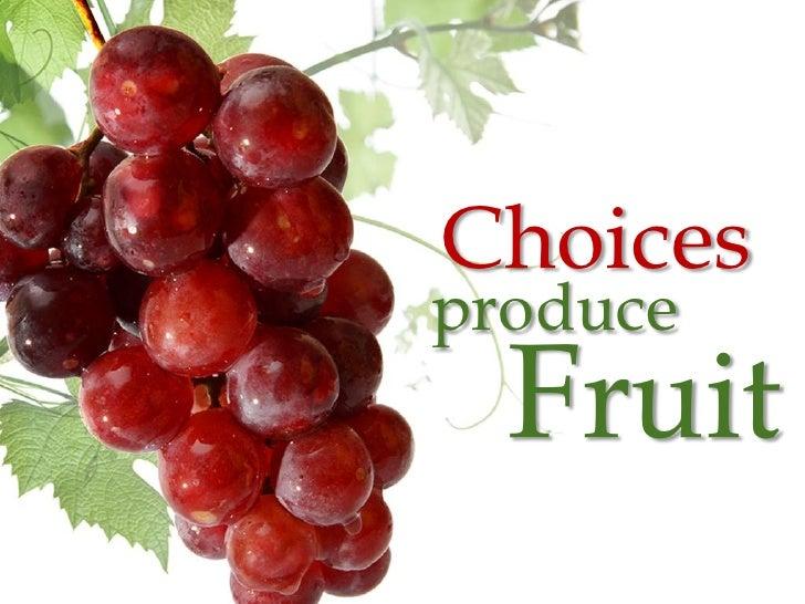 Choicesproduce  Fruit