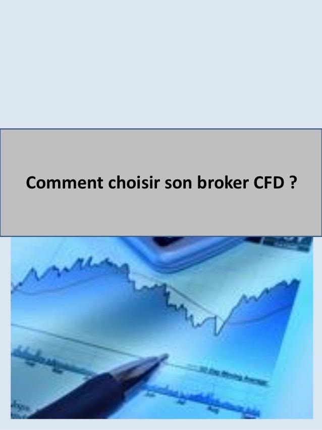 Comment choisir son broker CFD ?