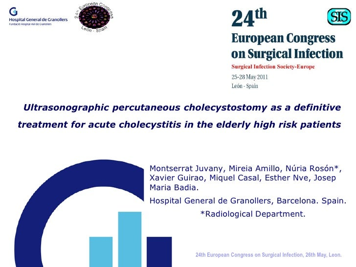 Ultrasonographic percutaneous cholecystostomy as a definitivetreatment for acute cholecystitis in the elderly high risk pa...