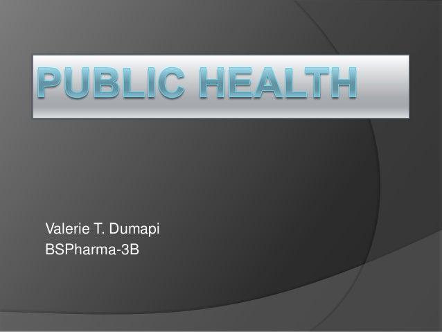 Cholera public health