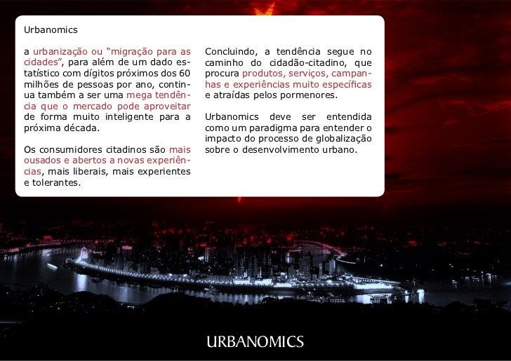 """Urbanomicsa urbanização ou """"migração para as      Concluindo, a tendência segue nocidades"""", para além de um dado es-      ..."""