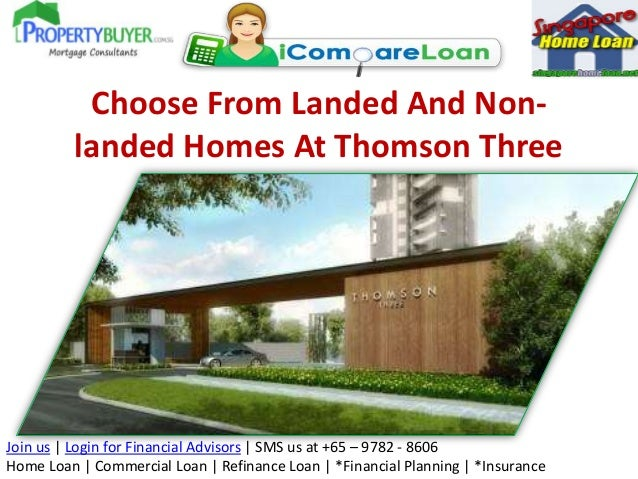 Choose From Landed And Non-landed Homes At Thomson Three