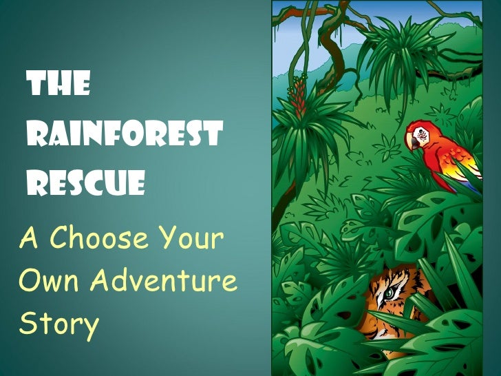 A Choose Your  Own Adventure  Story The  Rainforest  Rescue