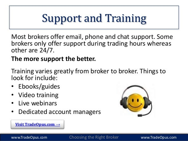 Options trading brokers reviews