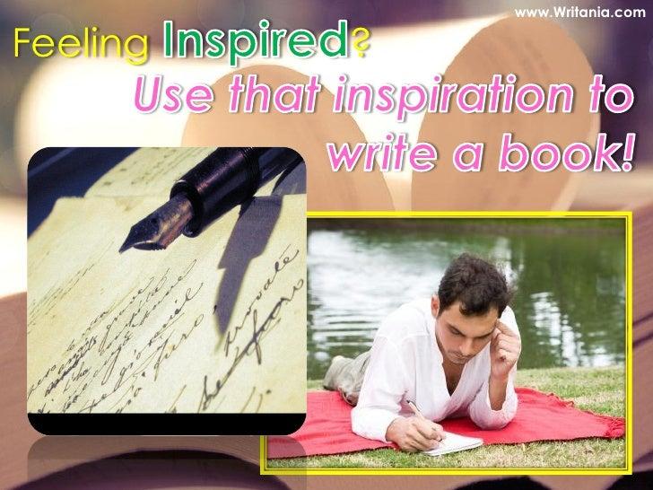 Novel writing inspiration