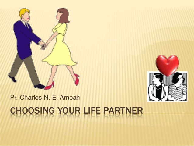 Choosing a partner   new
