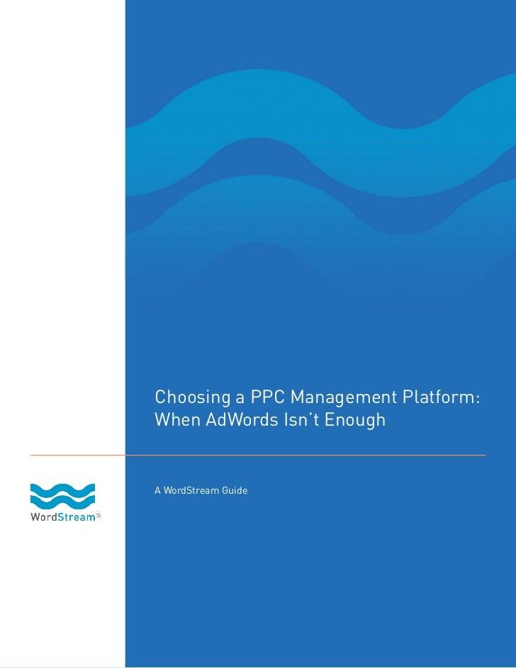 Choosing a ppc_platform