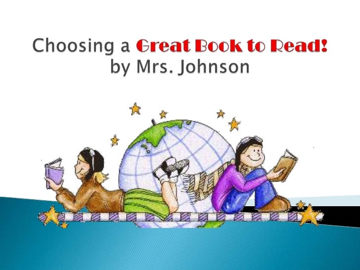 Choosing Great Books to Read