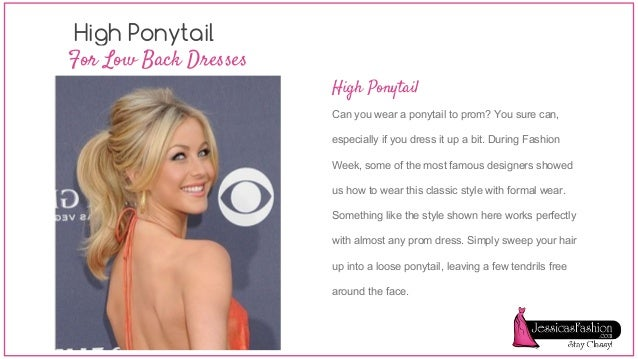 How to wear a backless dress