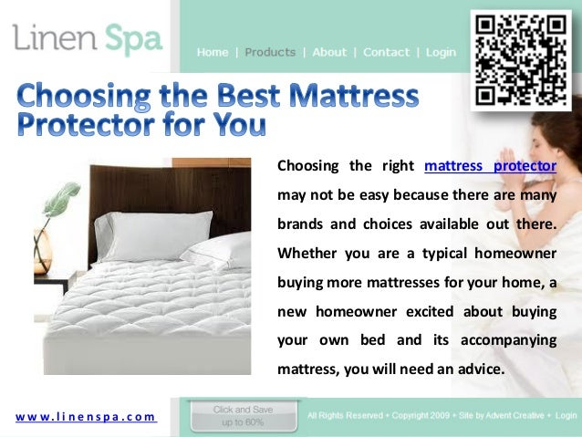 Choosing the best mattress protector for you