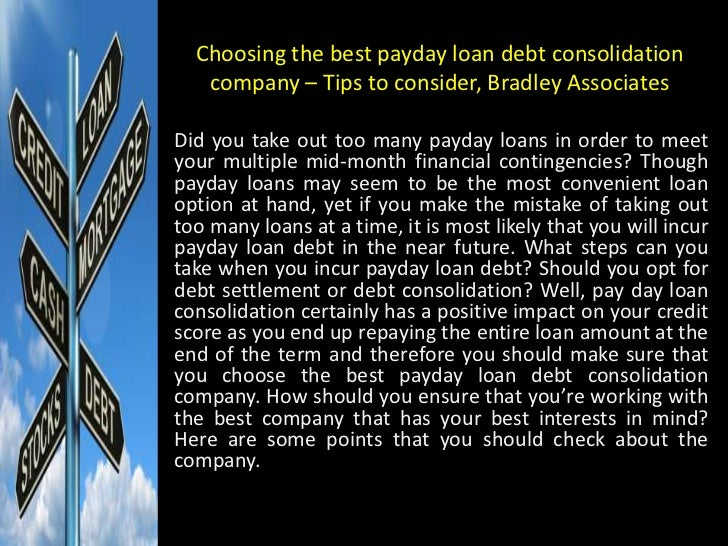 Top 5 Debt Consolidation Loan Companies