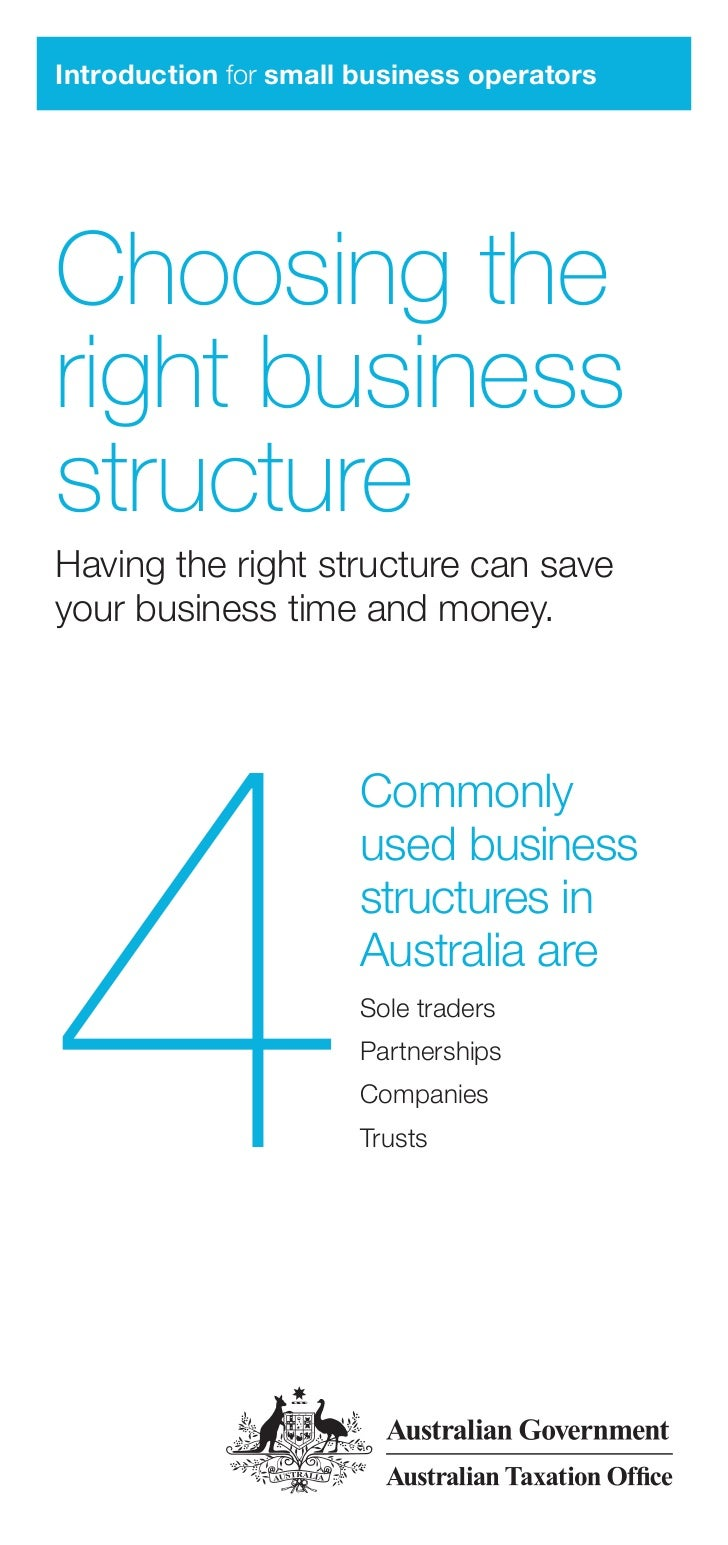 Choosing the right_business_structure