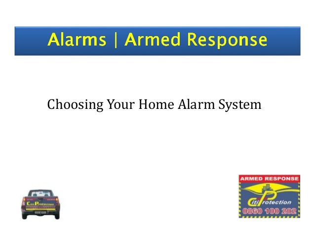 Alarms | Armed ResponseAlarms | Armed ResponseAlarms | Armed ResponseAlarms | Armed Response Choosing Your Home Alarm Syst...