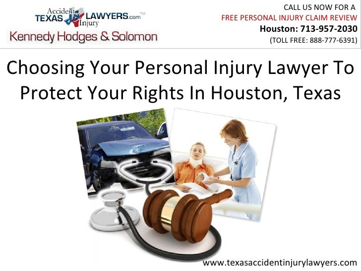 Choosing Your Personal Injury Lawyer To Protect Your Rights In Houston, Texas