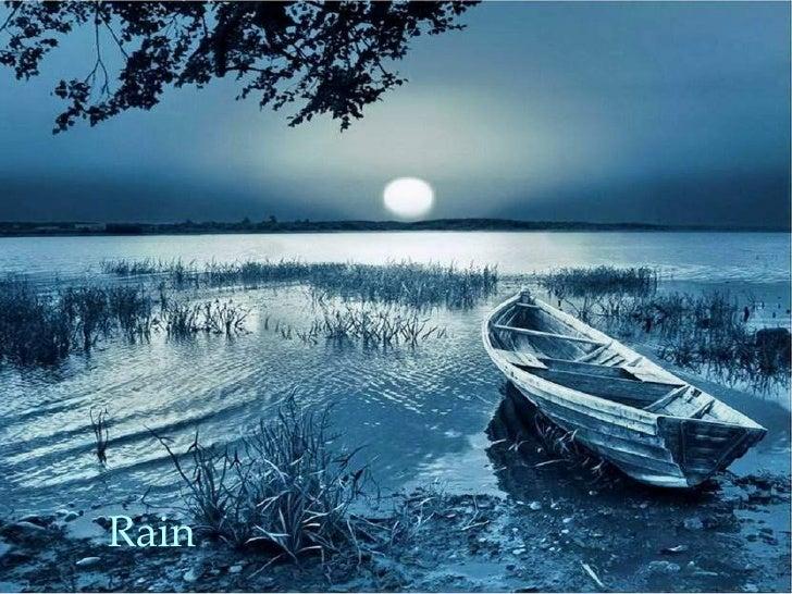 Chopin y la lluvia