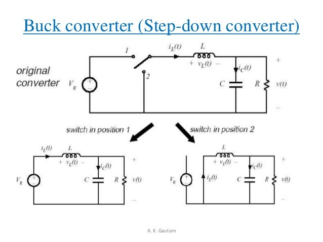 step down buck converter analysis essay