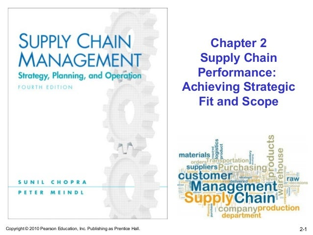 Chapter 2                                                                          Supply Chain                           ...