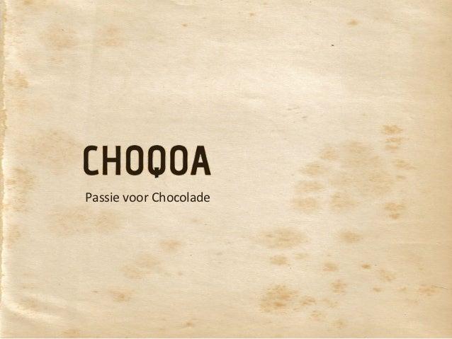 Passie voor Chocolade