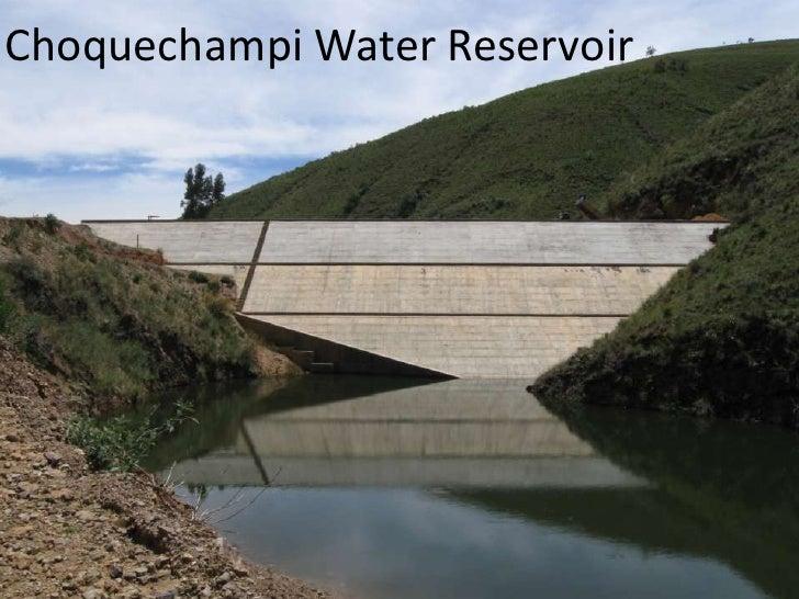 Choquechampi Water Reservoir 2010